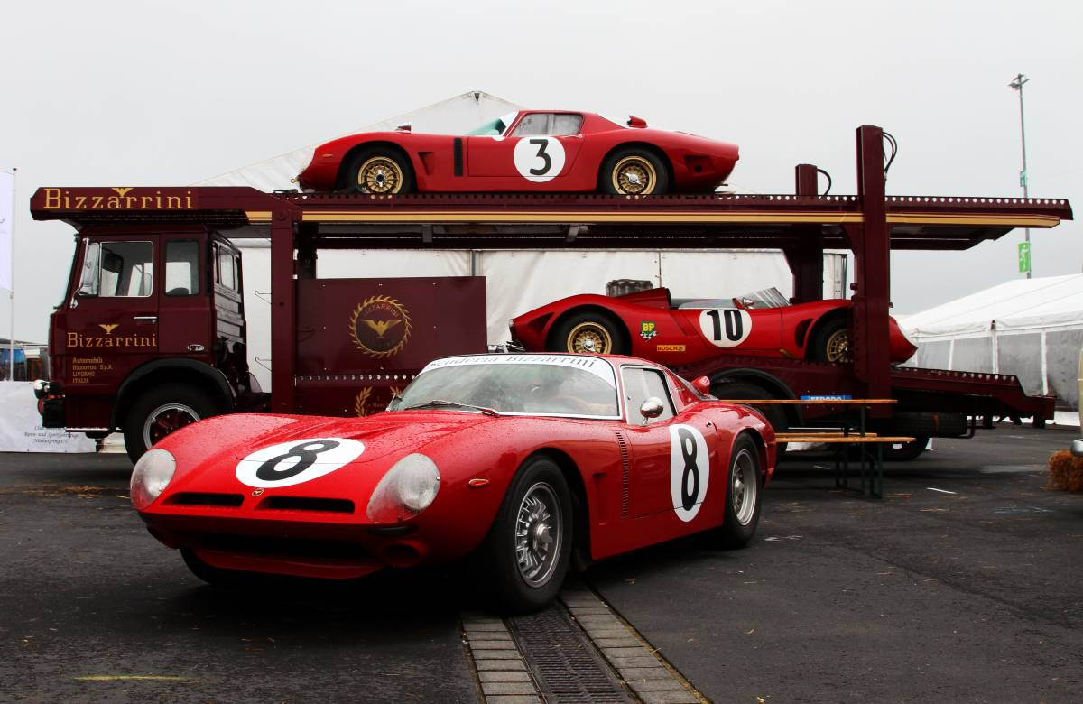 Bizzarrini Renntransporter @ AvD Oldtimer GP 2017