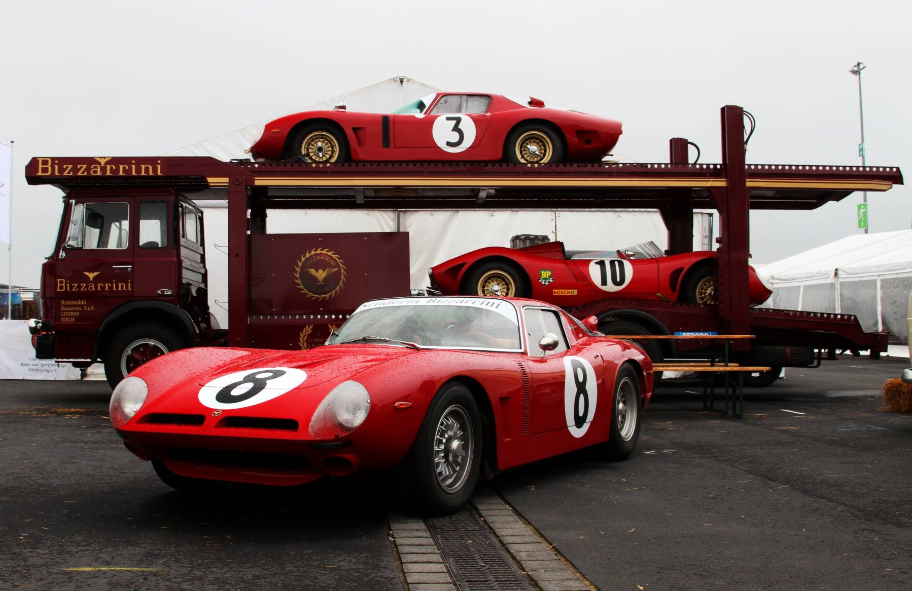 Bizzarrini, Renntransporter