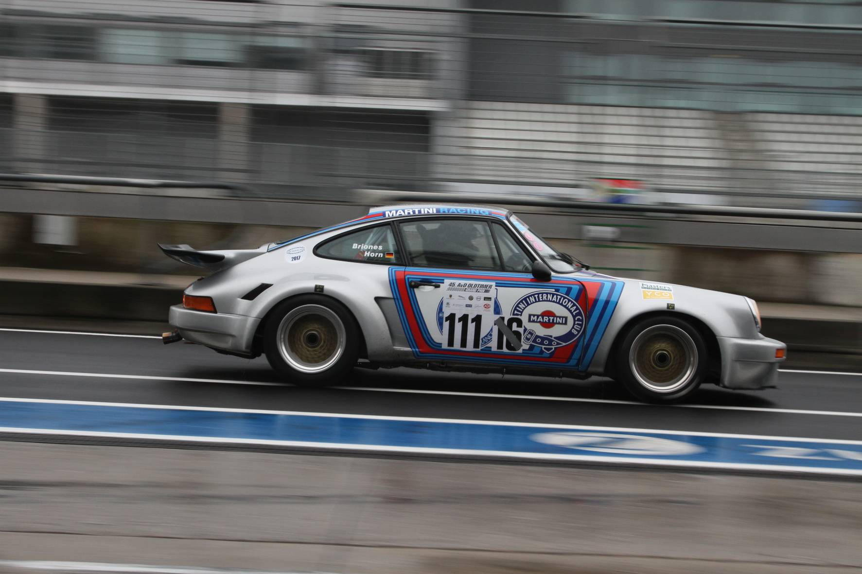 Porsche 911 RSR Pablo Briones @ FIA Historic Sports Car AvD Oltimer GP 2017