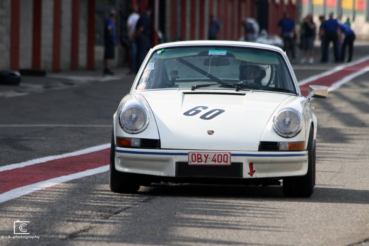 Porsche 911 Carerra RS @ Spa Summer Classic