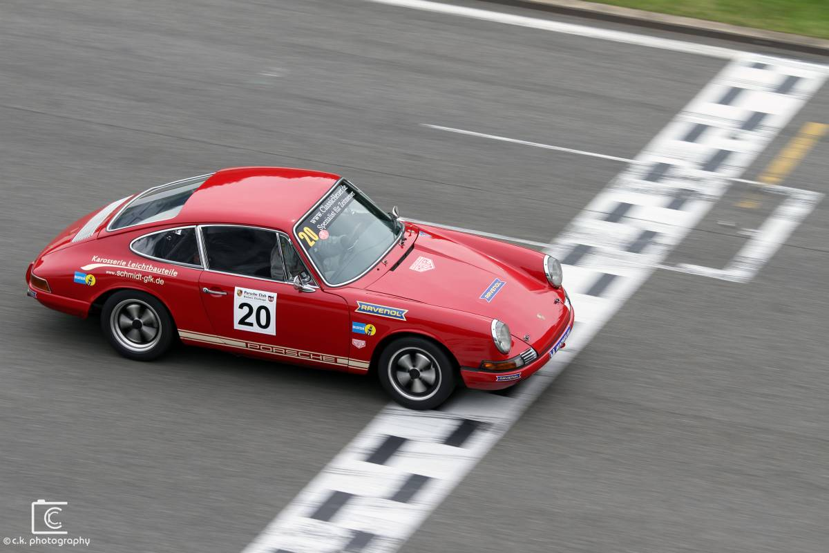 Porsche 911 Coupe @ Spa Summer Classic PCHC